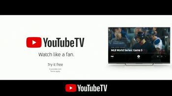 YouTube TV TV Spot, '2018 World Series Game 5: Time for a Change' - Thumbnail 9