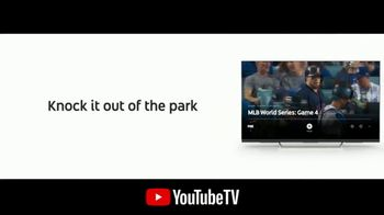 YouTube TV TV Spot, '2018 World Series Game 4: Out of the Park' - 2 commercial airings