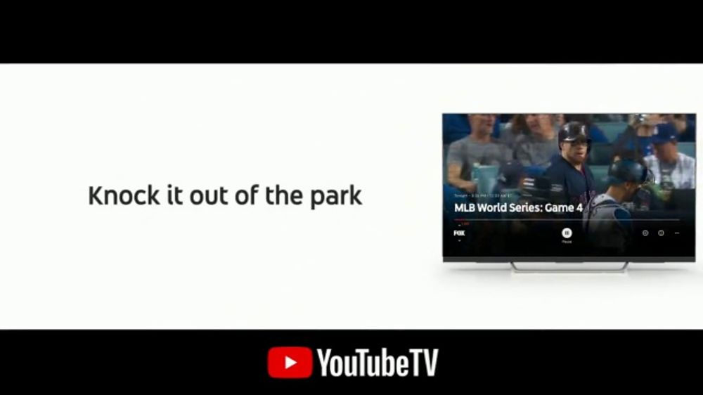 YouTube TV TV Commercial, '2018 World Series Game 4: Out of the Park'