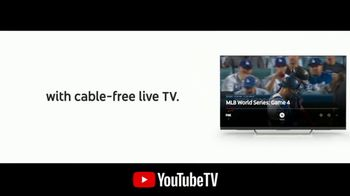 YouTube TV TV Spot, '2018 World Series Game 4: Out of the Park' - Thumbnail 4