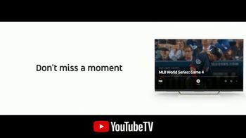 YouTube TV TV Spot, '2018 World Series Game 4: Out of the Park' - Thumbnail 6