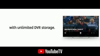 YouTube TV TV Spot, '2018 World Series Game 4: Out of the Park' - Thumbnail 7