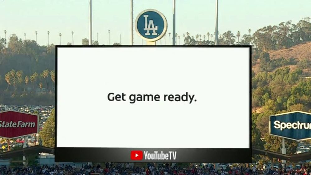 YouTube TV TV Commercial, YouTube TV TV Commercial, '2018 World Series Game 4: Game Ready'