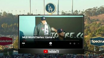 YouTube TV TV Spot, YouTube TV TV Spot, '2018 World Series Game 4: Game Ready' - Thumbnail 1