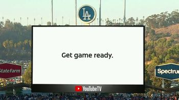 YouTube TV TV Spot, YouTube TV TV Spot, '2018 World Series Game 4: Game Ready' - 1 commercial airings