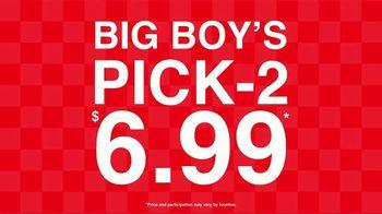 Big Boy Pick-2 $6.99 TV Spot, 'Soup, Sandwiches & Salads' - Thumbnail 1