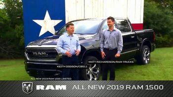 2019 Ram 1500 TV Spot, 'Impressive Truck' Featuring Keith Dodson [T2]