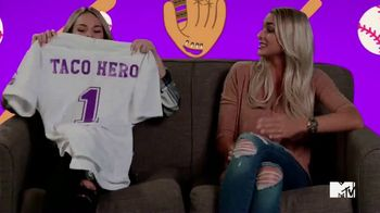 Taco Bell Steal a Base, Steal a Taco TV Spot, 'MTV: Siesta Key Talks Baseball' Featuring Juliette Porter, Kelsey Owens - 16 commercial airings