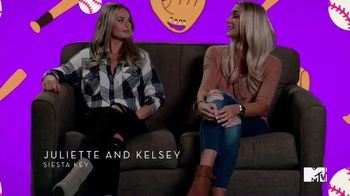 Taco Bell Steal a Base, Steal a Taco TV Spot, 'MTV: Siesta Key Talks Baseball' Featuring Juliette Porter, Kelsey Owens - Thumbnail 2