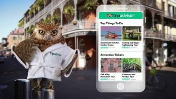 TripAdvisor TV Spot, 'Smooth Sailing New Orleans: 10 Percent Off' - 495 commercial airings