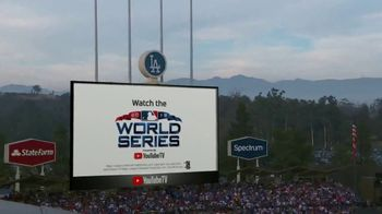 YouTube TV TV Spot, '2018 World Series Game 5: Game Face' - 4 commercial airings