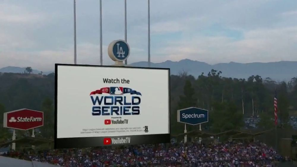 YouTube TV TV Commercial, '2018 World Series Game 5: Game Face'