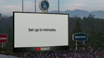 YouTube TV TV Spot, '2018 World Series Game 5: Game Face' - Thumbnail 10