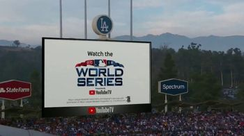 YouTube TV TV Spot, '2018 World Series Game 5: Game Face' - Thumbnail 7