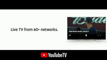 YouTube TV TV Spot, '2018 World Series Game 4: Killer Pitch' - Thumbnail 5
