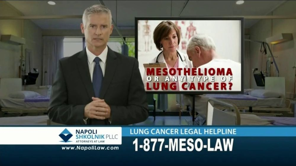 Napoli Shkolnik PLLC TV Commercial, 'Mesothelioma or Lung Cancer: Asbestos'  - Video