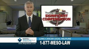 Napoli Shkolnik PLLC TV Spot, 'Mesothelioma or Lung Cancer: Asbestos'