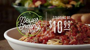 Olive Garden Never Ending Pasta Bowl TV Spot, 'It's Almost Over' - Thumbnail 3