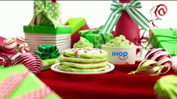 IHOP Grinch Pancakes TV Spot, 'The Grinch: los niños comen gratis' [Spanish]