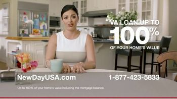 NewDay USA VA Home Loan TV Spot, \'Veteran Homeowner\'