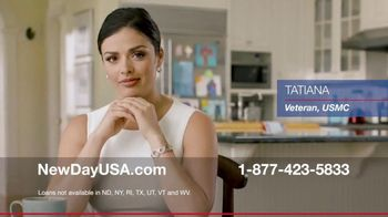 NewDay USA VA Home Loan TV Spot, 'Veteran Homeowner' - Thumbnail 1