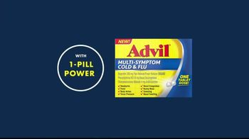 Advil Multi-Symptom Cold & Flu TV Spot, 'Winter Getaway' - Thumbnail 6