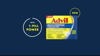 Advil Multi-Symptom Cold & Flu TV Spot, 'Winter Getaway' - Thumbnail 7