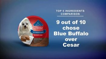 Blue Buffalo Divine Delights TV Spot, 'BLUE vs. Cesar' - Thumbnail 9