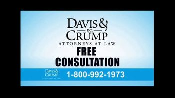 Davis & Crump, P.C. TV Spot, 'Roundup Weed Killer Linked to Cancer' - Thumbnail 8