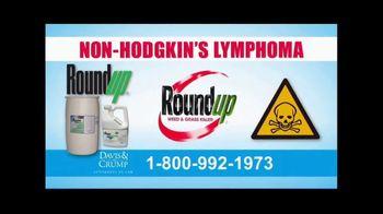 Davis & Crump, P.C. TV Spot, 'Roundup Weed Killer Linked to Cancer' - Thumbnail 7