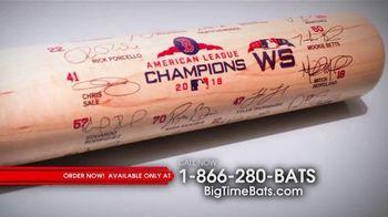 Louisville Slugger 2018 World Series Team Signature Bat TV Spot, '2018 Roster and Red Sox Logo'