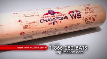 Louisville Slugger 2018 World Series Team Signature Bat TV Spot, '2018 Roster and Red Sox Logo'