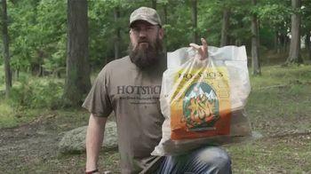 Hotsticks Firewood TV Spot, 'Lights Easy. Burns Hot' Featuring Kip Campbell - Thumbnail 1