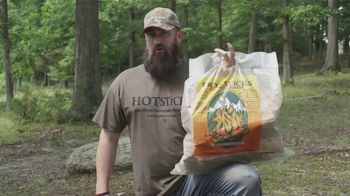 Hotsticks Firewood TV Spot, 'Lights Easy. Burns Hot' Featuring Kip Campbell - Thumbnail 3