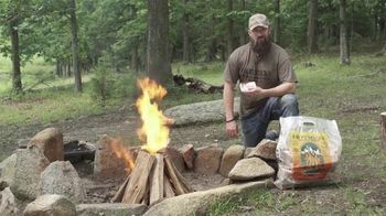 Hotsticks Firewood TV Spot, 'Lights Easy. Burns Hot' Featuring Kip Campbell - Thumbnail 9