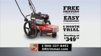 DR Trimmer Mower TV Spot, 'The Original Trimmer on Wheels: Free Shipping' - Thumbnail 9
