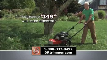 DR Trimmer Mower TV Spot, 'The Original Trimmer on Wheels: Free Shipping' - Thumbnail 6