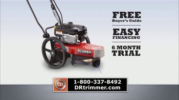 DR Trimmer Mower TV Spot, 'The Original Trimmer on Wheels: Free Shipping' - Thumbnail 8