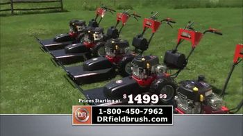 DR Field and Brush Mower TV Spot, 'Reclaim'