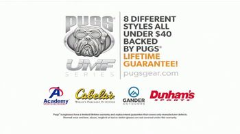 Pugs UMF Premium Sunglasses TV Spot, 'Demonstration' - Thumbnail 7