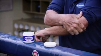 Blue-Emu Super Strength TV Spot, 'Big-Time Coverage' Featuring Johnny Bench - Thumbnail 5