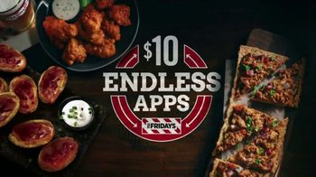 TGI Friday's $10 Endless Apps TV Spot, 'Endless Apps Forever' - Thumbnail 10