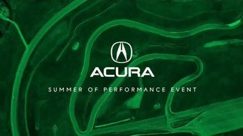 Acura Summer of Performance Event TV Spot, 'Hottest Offers: 2018 MDX'