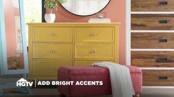 Wayfair TV Spot, 'HGTV: Bright Accents' - Thumbnail 1