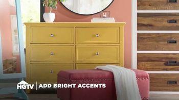 Wayfair TV Spot, 'HGTV: Bright Accents'