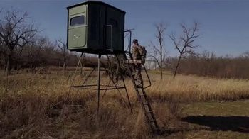 Redneck Hunting Blinds 6x7 Big Country TV Spot, 'More Space'