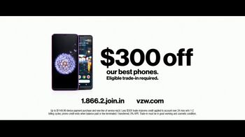 Verizon Unlimited Plans TV Spot, 'Huge News: $300 Off' - Thumbnail 9
