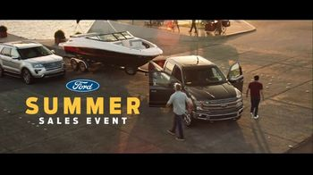 Ford Summer Sales Event TV Spot, \'Favorite Boat\' Song by American Authors