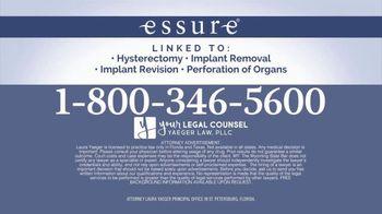 Yaeger Law TV Spot, 'Essure' - Thumbnail 7