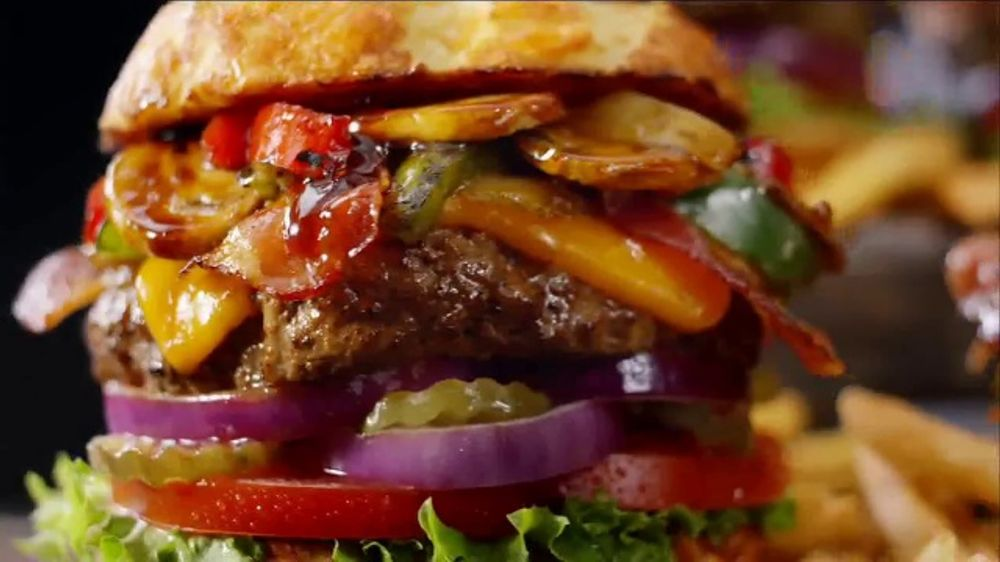 Denny's Burger and Fries TV Commercial, 'How Fast'